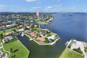 Marco Island Home For Sale Aerial View