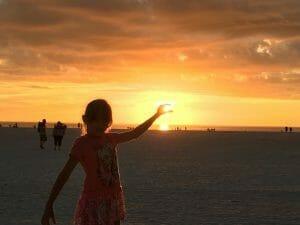 Marco Island Resident's Beach Sunset
