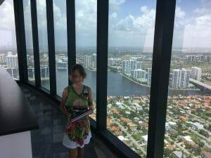 Kolbie at Porsche Tower Sunny Isles FL